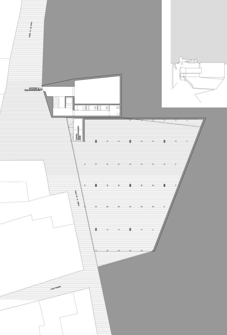 pl04_ordenacion general_planta aparcamiento cubierto (semisotano)